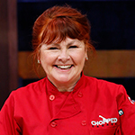Mary had a great time as a recent guest on Chopped Canada on the Food Network.